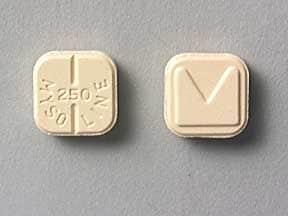 Imprint Logo MYSOLINE 250 - Mysoline 250 mg