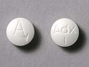 Imprint Adx 1 A - Arimidex 1 mg