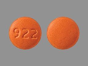 Imprint 922 - eletriptan 20 mg (base)