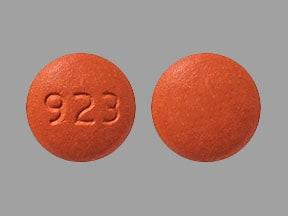 Imprint 923 - eletriptan 40 mg (base)