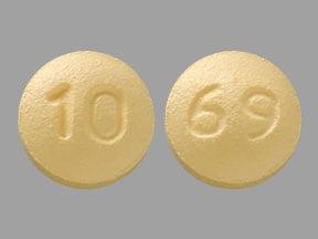 Imprint 10 69 - vardenafil 5 mg
