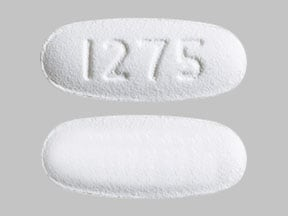 Imprint 1275 - deferasirox 90 mg