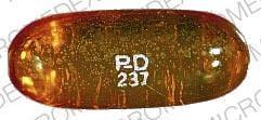 Imprint PD 237 - Zarontin 250 mg