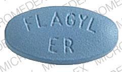 Image 1 - Imprint SEARLE 1961 FLAGYL ER - Flagyl ER 750 mg