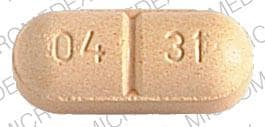 Imprint WALLACE 04 31 - Felbatol 600 mg
