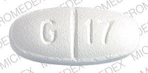 Imprint G 17 LL - gemfibrozil 600 MG