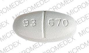 Imprint 93 670 - gemfibrozil 600 mg