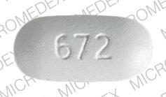 Imprint 672 PENTOX - pentoxifylline 400 MG