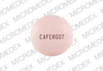 Image 1 - Imprint CAFERGOT - Cafergot 100 mg / 1 mg