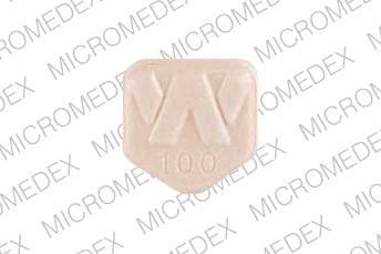Image 1 - Imprint W 100 705 - Effexor 100 mg