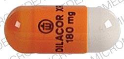 Image 1 - Imprint Logo DILACOR XR 180 mg - Dilacor XR 180 mg