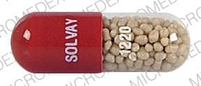 Imprint SOLVAY 1220 - Creon 66,400 units amylase; 20,000 units lipase; 75,000 units protease