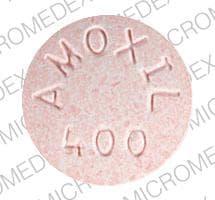Image 1 - Imprint AMOXIL 400 - Amoxil 400 mg