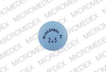 Image 1 - Imprint GLUCOTROL XL 2.5 - Glucotrol XL 2.5 mg