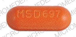 Image 1 - Imprint DOLOBID MSD697 - Dolobid 500 mg