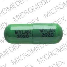 Image 1 - Imprint MYLAN 2020 MYLAN 2020 - piroxicam 20 mg