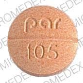 Image 1 - Imprint par 105 - allopurinol 300 mg