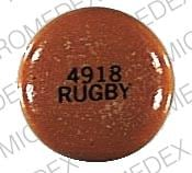 Imprint 4918 RUGBY - chlorpromazine 200 mg