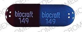 Imprint BIOCRAFT 149 - clindamycin 150 mg