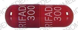 Imprint RIFADIN 300 RIFADIN 300 - Rifadin 300 mg