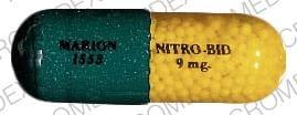 Imprint MARION 1553 NITRO-BID 9 mg - Nitro-Bid 9 MG