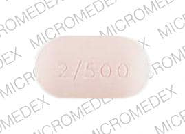 Image 1 - Imprint gsk 2/500 - Avandamet 500 mg / 2 mg