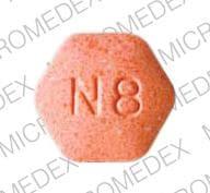 Imprint N8 LOGO - Suboxone 8 mg / 2 mg