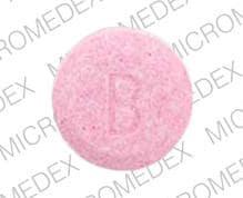 Imprint B - diphenhydramine diphenhydramine citrate 19 mg