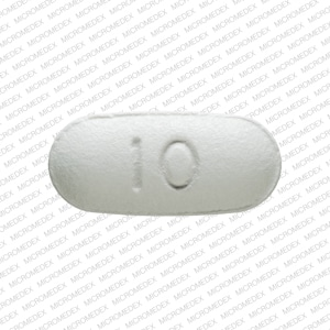 Imprint 10 FL - Namenda 10 mg