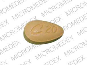 Imprint C 20 - Cialis 20 mg