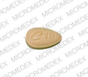 Imprint C 10 - Cialis 10 mg