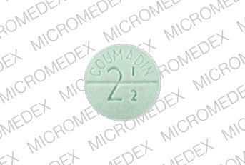 Image 3 - Imprint DuPont COUMADIN 2 1/2 - Coumadin 2.5 mg