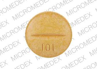 Imprint KPh 101 - Azulfidine 500 mg