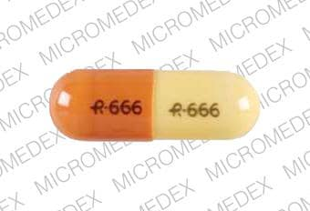 Imprint R 666 R 666 - gabapentin 300 mg