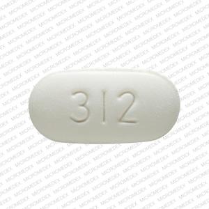 Imprint 312 - Vytorin 10 mg / 20 mg