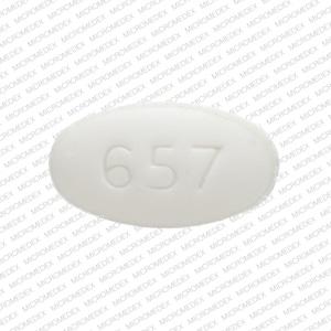 Imprint WAT SON 657 - buspirone 5 mg