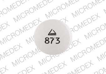 Imprint Logo 873 - glipizide 10 mg