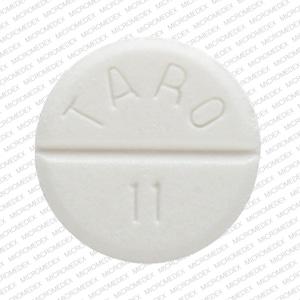 Image 3 - Imprint TARO 11 - carbamazepine 200 mg