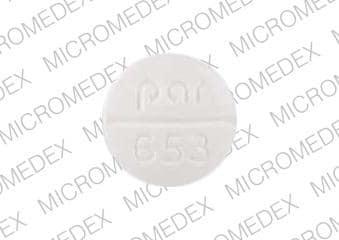 Imprint 20 par 653 - torsemide 20 mg