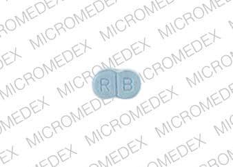 Imprint 4 8 R B - glimepiride 1 mg