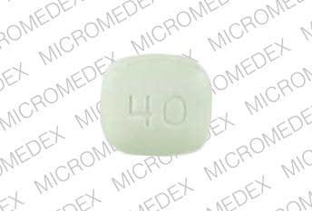 Imprint 0016 40 - pravastatin 40 mg