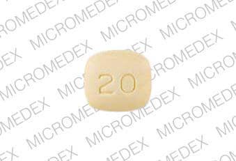 Imprint 0014 20 - pravastatin 20 mg