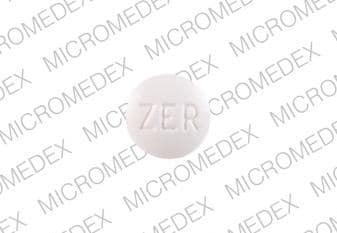 Imprint ZER 4 - carbinoxamine 4 mg