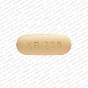 Imprint XR 200 - Seroquel XR 200 mg