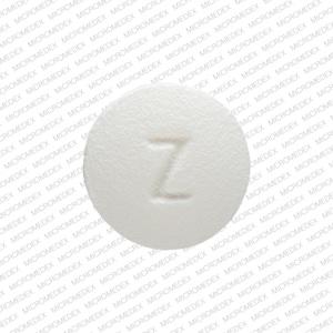 Imprint Z 1 - carvedilol 3.125 mg