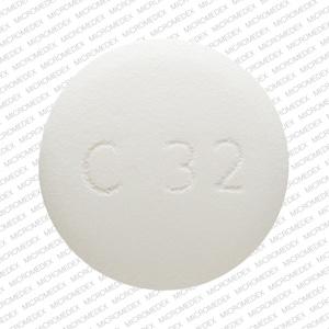 Imprint LU C32 - ethambutol 400 mg