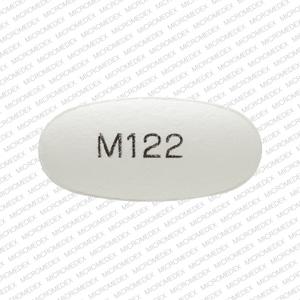 Imprint M122 - valacyclovir 500 mg