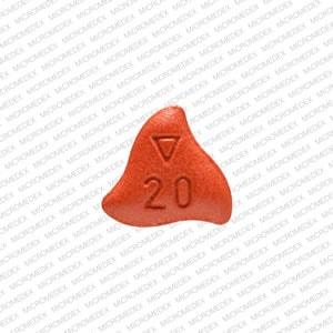 Imprint Logo 20 Xa - Xarelto 20 mg