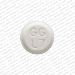 Image 3 - Imprint GG L7 - atenolol 25 mg