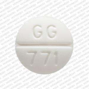 Image 2 - Imprint GG 771 - glipizide 5 mg
